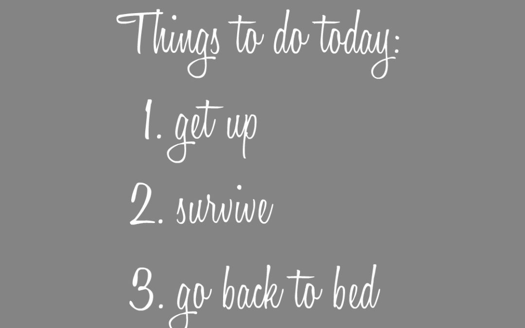 """Some Days a Simple """"To Do"""" List IS Enough"""