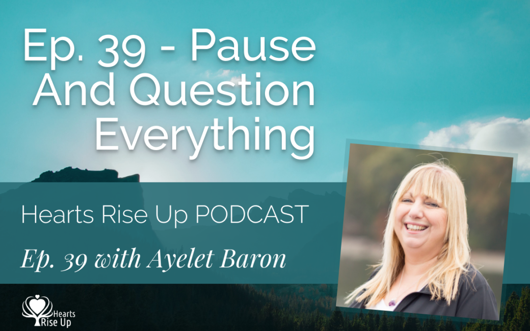 Ep. 39 – Pause And Question Everything