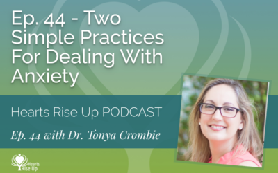 Ep. 44 – Two Simple Practices For Dealing With Anxiety